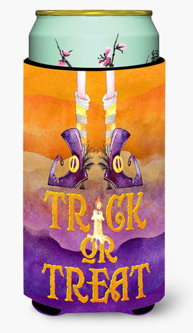 Buy this Halloween Trick Witches Feet Tall Boy Beverage Insulator Hugger BB7460TBC