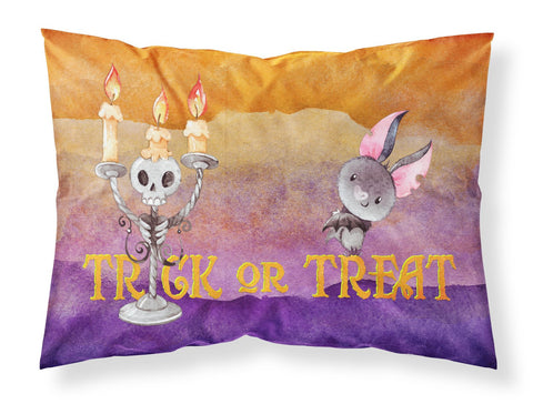 Buy this Halloween Trick or Treat Fabric Standard Pillowcase BB7461PILLOWCASE