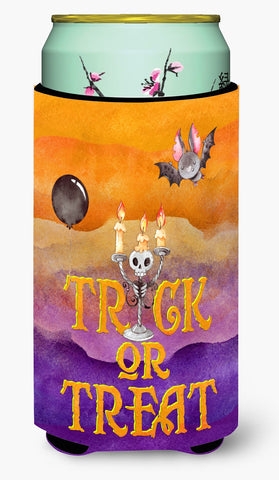 Buy this Halloween Trick or Treat Tall Boy Beverage Insulator Hugger BB7461TBC