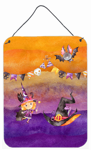 Buy this Halloween Little Witch Party Wall or Door Hanging Prints BB7462DS1216