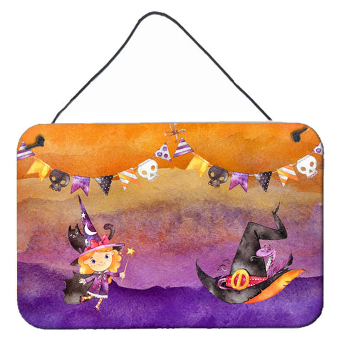 Buy this Halloween Little Witch Party Wall or Door Hanging Prints BB7462DS812
