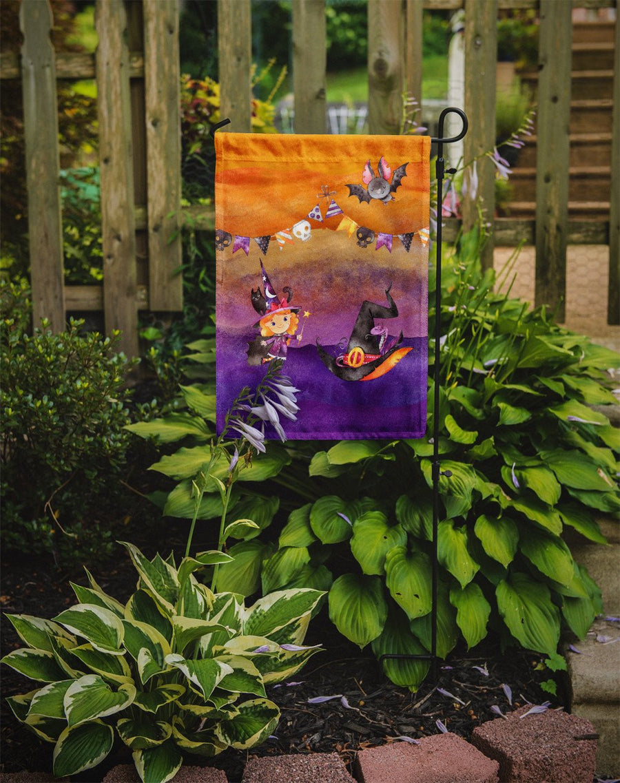 Buy this Halloween Little Witch Party Flag Garden Size BB7462GF