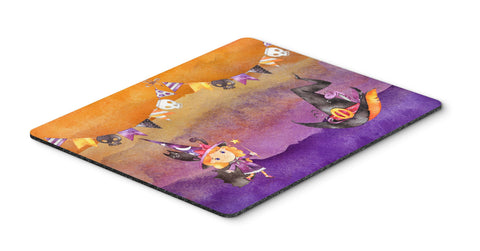 Buy this Halloween Little Witch Party Mouse Pad, Hot Pad or Trivet BB7462MP