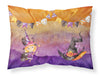 Halloween Little Witch Party Fabric Standard Pillowcase BB7462PILLOWCASE by Caroline's Treasures