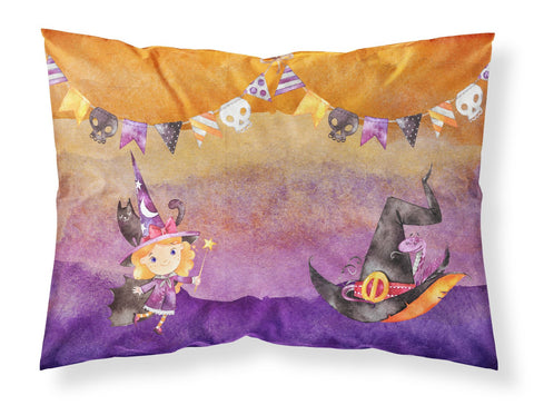 Buy this Halloween Little Witch Party Fabric Standard Pillowcase BB7462PILLOWCASE