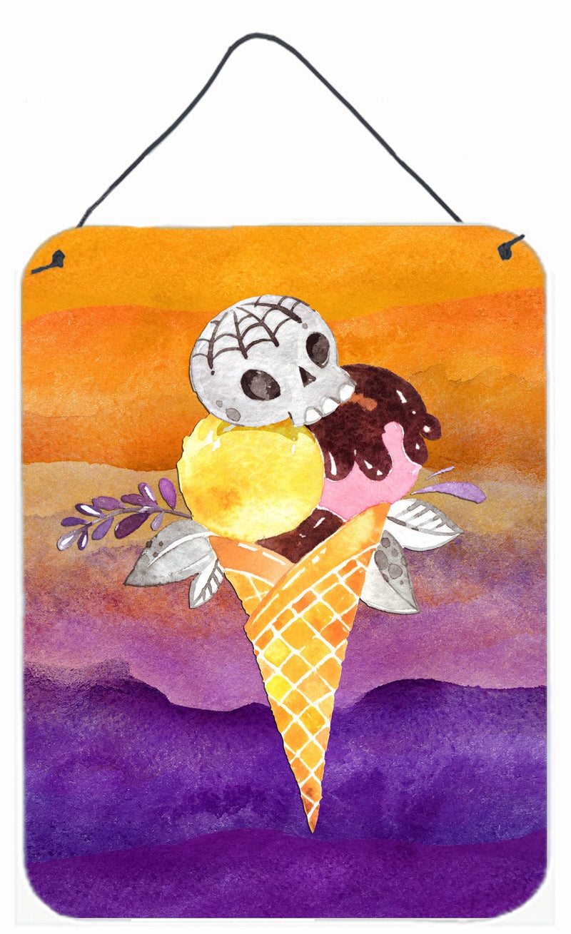 Buy this Halloween Sweets Ice Cream Skull Wall or Door Hanging Prints BB7464DS1216