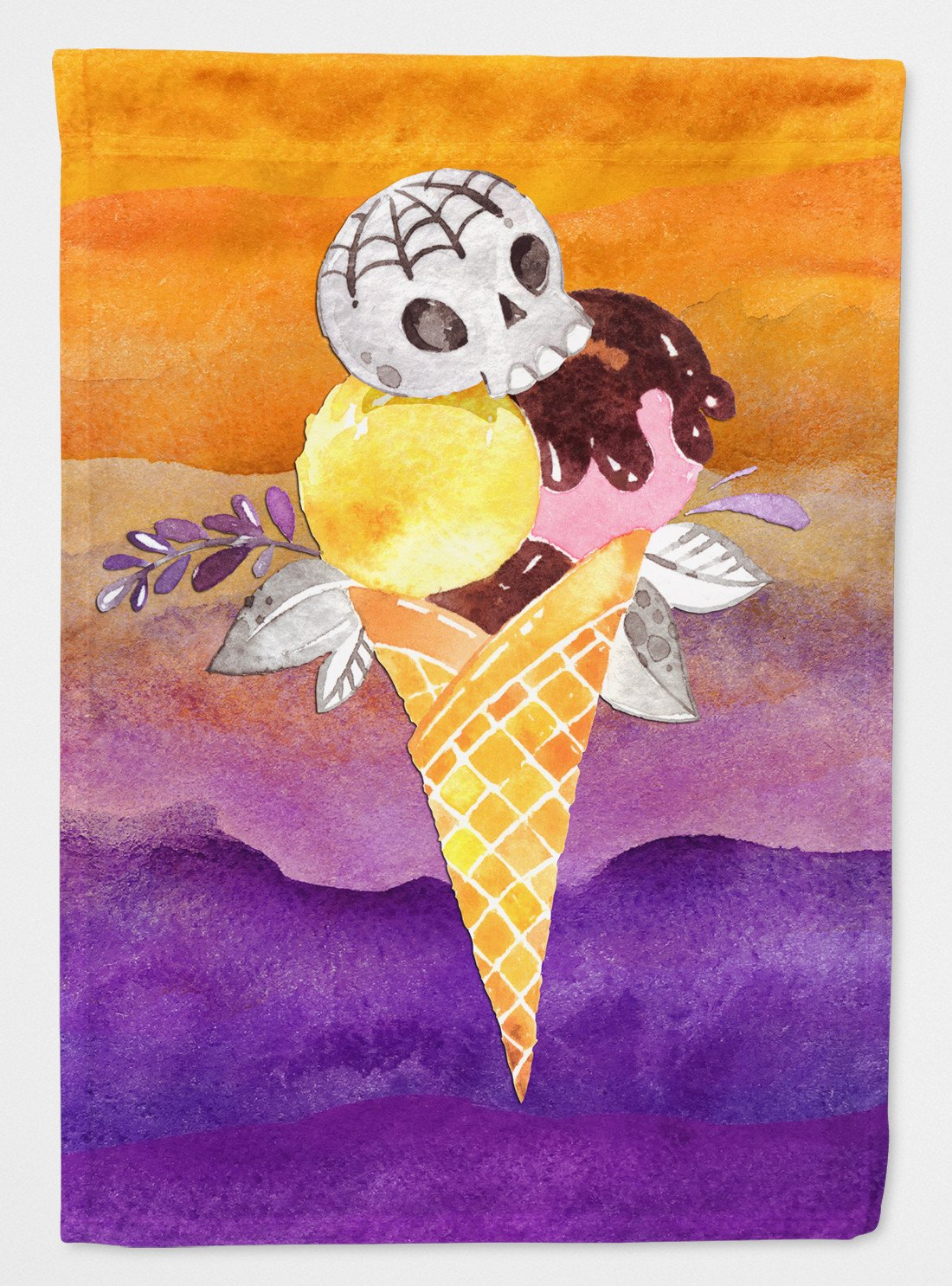 Halloween Sweets Ice Cream Skull Flag Garden Size BB7464GF by Caroline's Treasures
