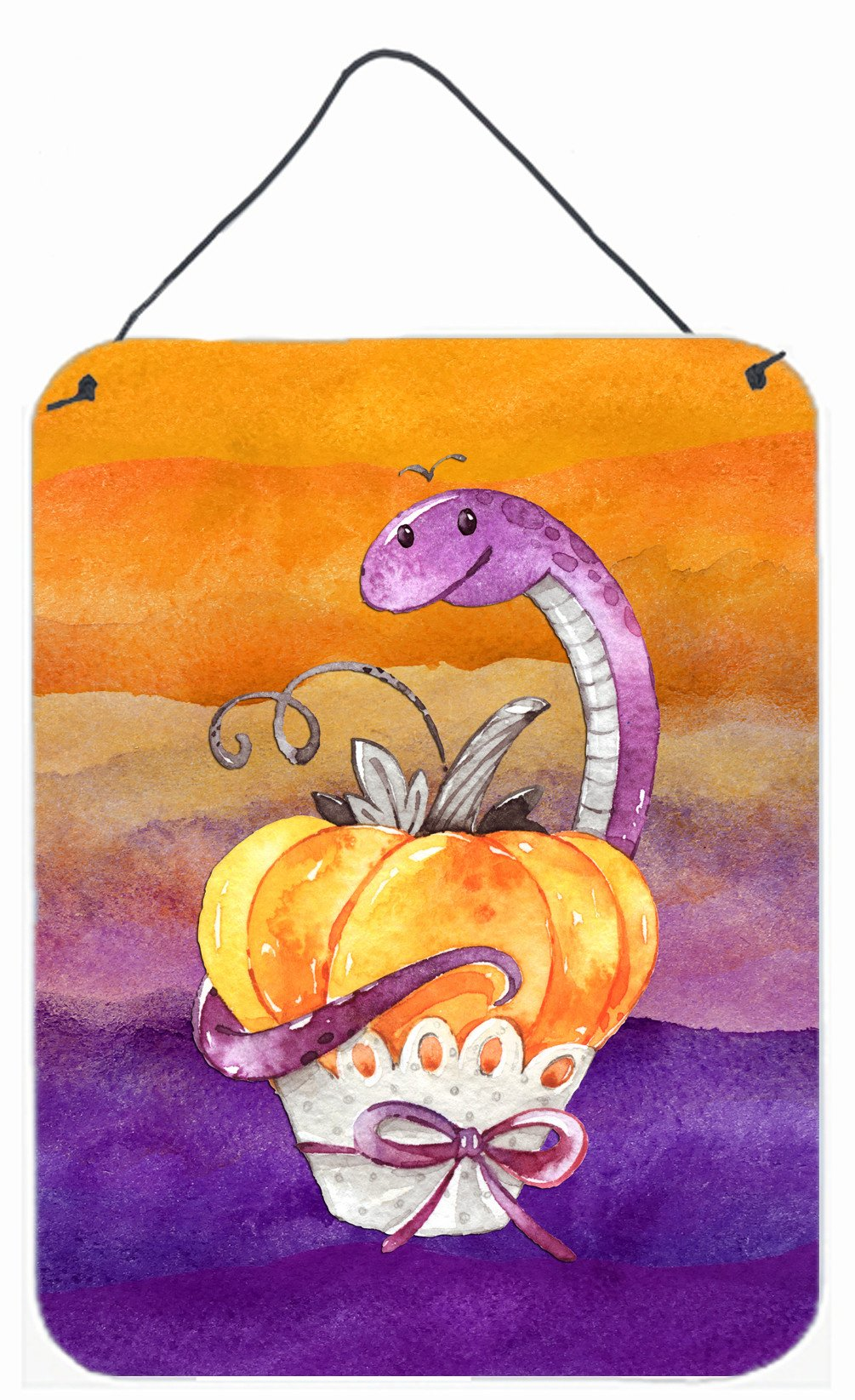 Buy this Halloween Pumpkin Snake Wall or Door Hanging Prints BB7465DS1216