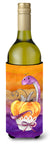 Buy this Halloween Pumpkin Snake Wine Bottle Beverge Insulator Hugger BB7465LITERK
