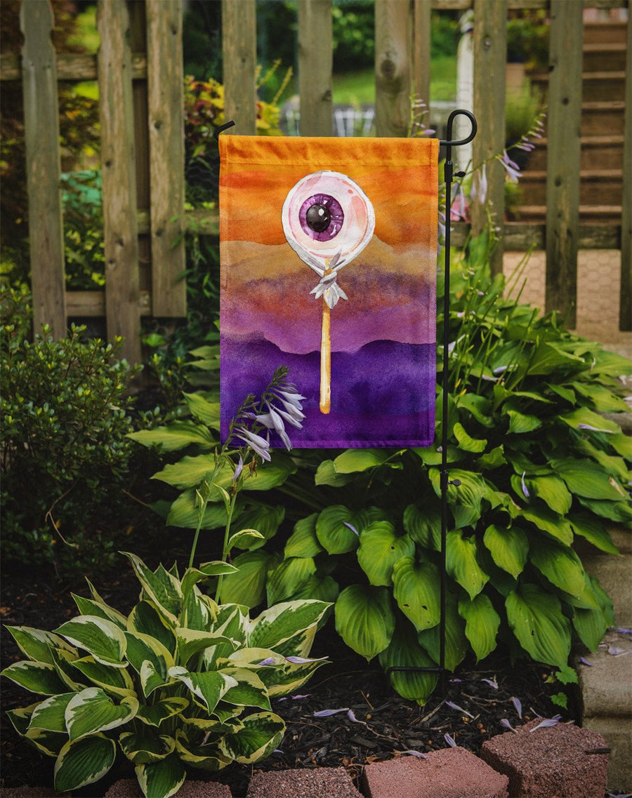 Buy this Halloween Eye Ball Lollipop Flag Garden Size BB7467GF