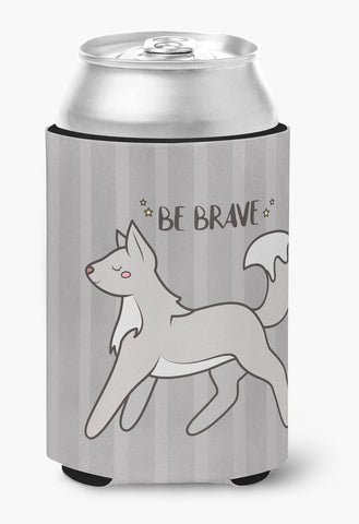 Buy this Nursery Be Brave Wolf Can or Bottle Hugger BB7472CC