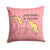 Nursery Everything is Possible Unicorn Fabric Decorative Pillow BB7479PW1414 by Caroline's Treasures