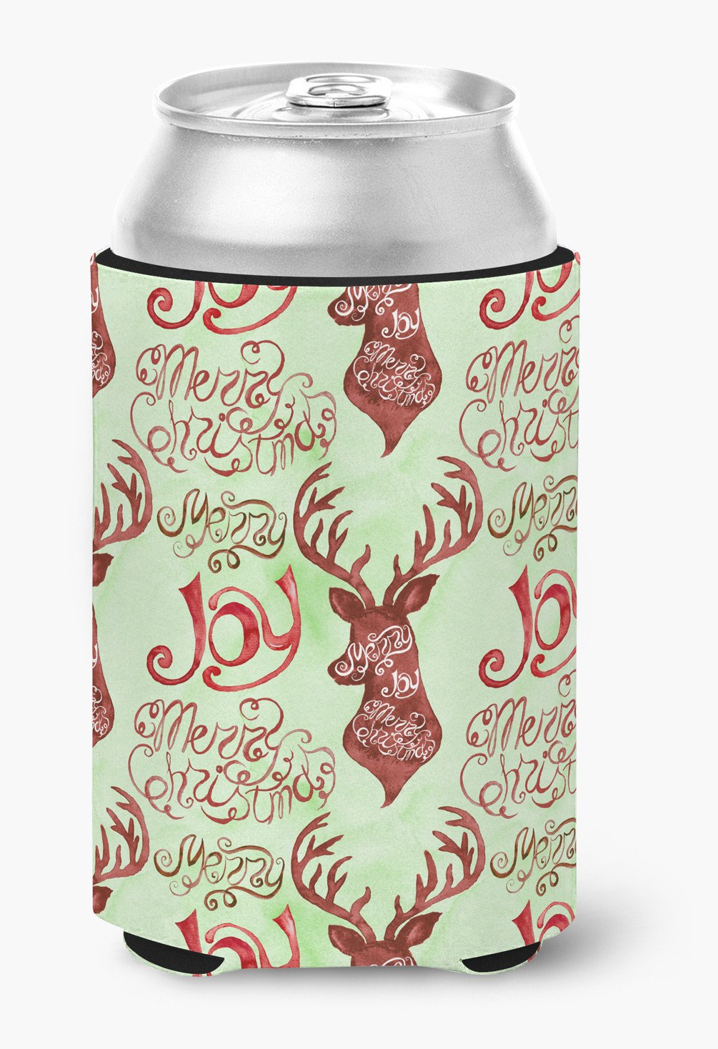 Buy this Merry Christmas Joy Reindeer Can or Bottle Hugger BB7488CC