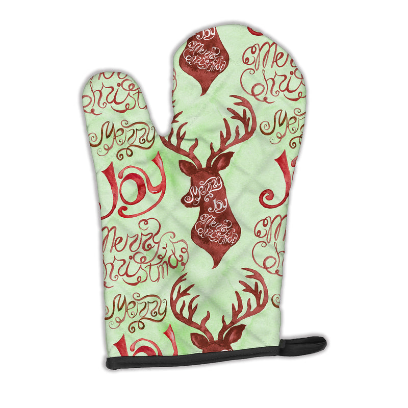 Buy this Merry Christmas Joy Reindeer Oven Mitt BB7488OVMT