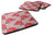 Buy this Watercolor Red Roses and Polkadots Foam Coaster Set of 4 BB7513FC