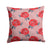 Buy this Watercolor Red Roses and Polkadots Fabric Decorative Pillow BB7513PW1414
