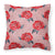 Buy this Watercolor Red Roses and Polkadots Fabric Decorative Pillow BB7513PW1818