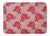 Buy this Watercolor Red Roses and Polkadots Machine Washable Memory Foam Mat BB7513RUG