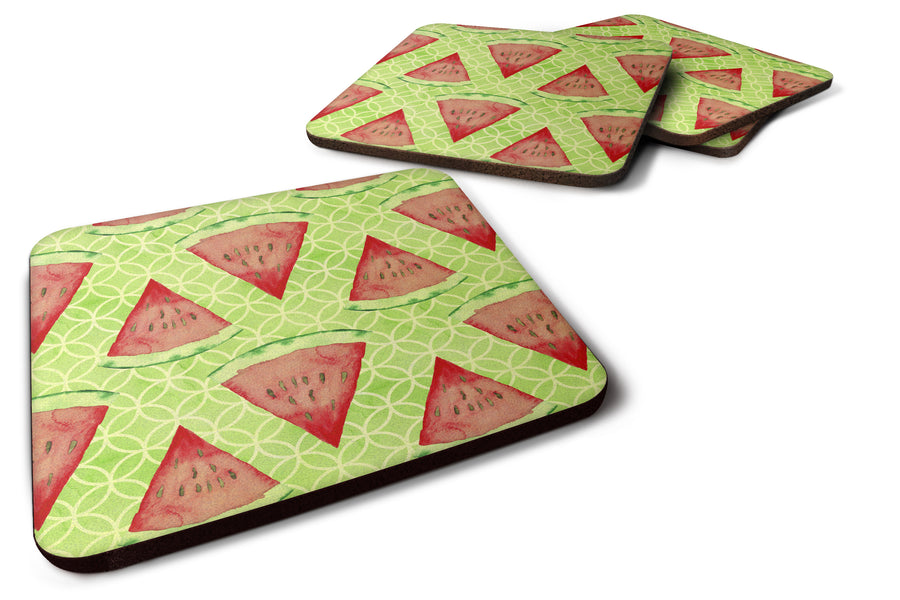 Buy this Watercolor Watermelon Foam Coaster Set of 4 BB7518FC