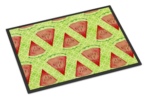 Buy this Watercolor Watermelon Indoor or Outdoor Mat 24x36 BB7518JMAT