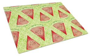 Buy this Watercolor Watermelon Glass Cutting Board Large BB7518LCB