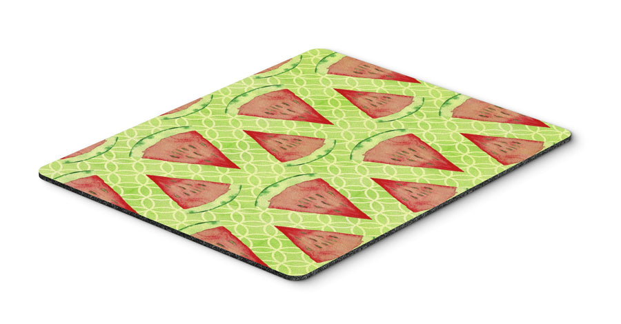 Buy this Watercolor Watermelon Mouse Pad, Hot Pad or Trivet BB7518MP
