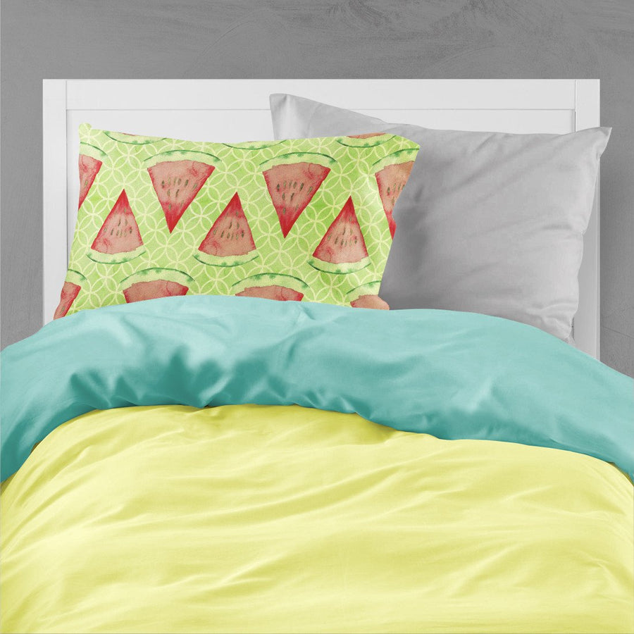 Buy this Watercolor Watermelon Fabric Standard Pillowcase BB7518PILLOWCASE