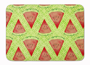 Buy this Watercolor Watermelon Machine Washable Memory Foam Mat BB7518RUG