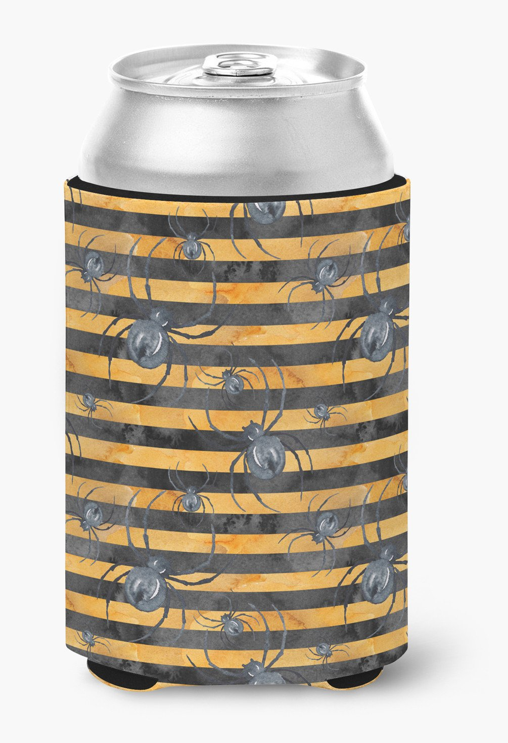 Buy this Watecolor Halloween Spiders Can or Bottle Hugger BB7526CC
