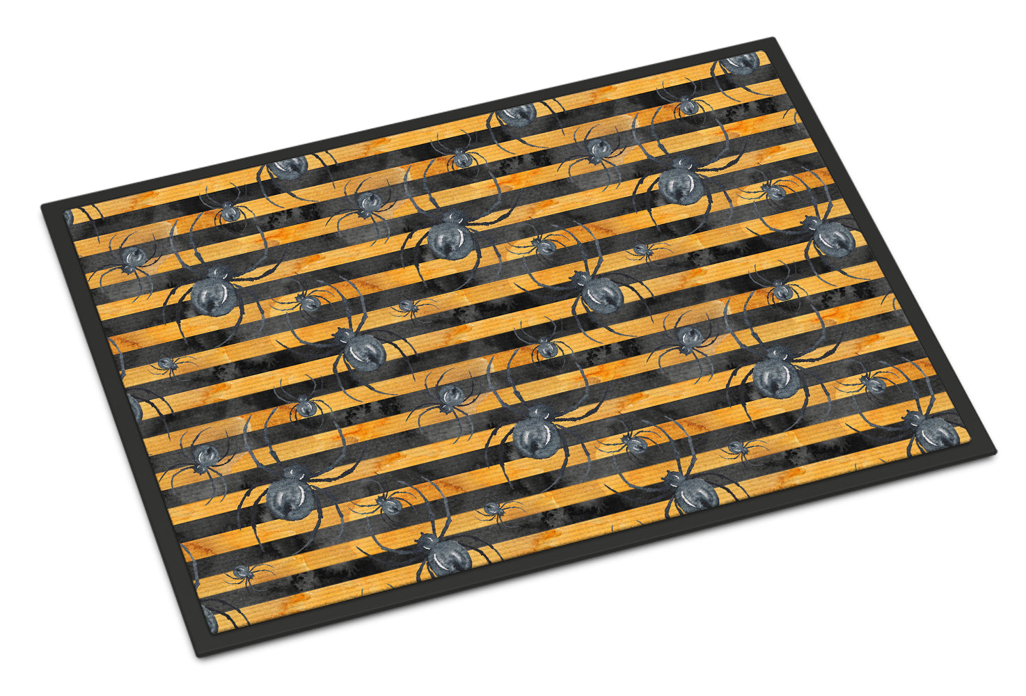 Buy this Watecolor Halloween Spiders Indoor or Outdoor Mat 18x27 BB7526MAT