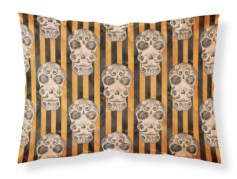 Buy this Watecolor Halloween Day of the Dead Head Fabric Standard Pillowcase BB7527PILLOWCASE