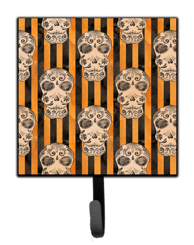 Buy this Watecolor Halloween Day of the Dead Head Leash or Key Holder BB7527SH4