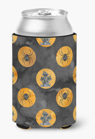 Buy this Watecolor Halloween Circles Can or Bottle Hugger BB7529CC