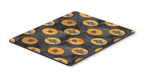 Buy this Watecolor Halloween Circles Mouse Pad, Hot Pad or Trivet BB7529MP