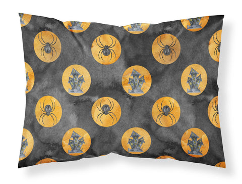 Buy this Watecolor Halloween Circles Fabric Standard Pillowcase BB7529PILLOWCASE