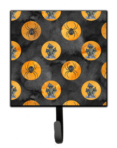 Buy this Watecolor Halloween Circles Leash or Key Holder BB7529SH4