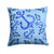 Buy this Beach Watercolor Anchors and Fish Fabric Decorative Pillow BB7534PW1414