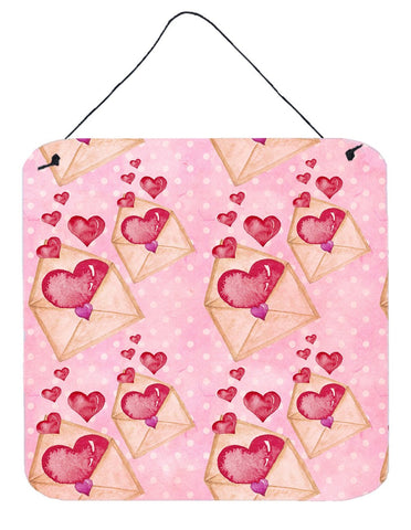 Buy this Watercolor Pink Love Letter Wall or Door Hanging Prints BB7568DS66