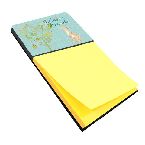 Buy this Welcome Friends Brindle Greyhound Sticky Note Holder BB7591SN