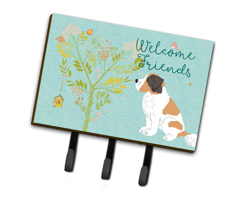 Buy this Welcome Friends Saint Bernard Leash or Key Holder BB7599TH68