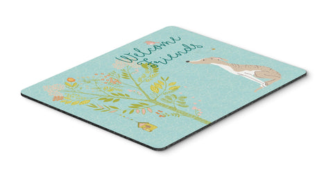 Buy this Welcome Friends Whippet Mouse Pad, Hot Pad or Trivet BB7626MP