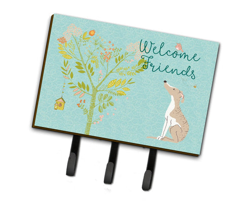 Buy this Welcome Friends Whippet Leash or Key Holder BB7626TH68