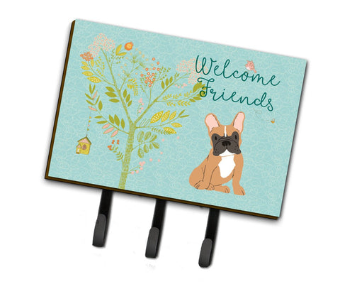 Buy this Welcome Friends Fawn French Bulldog Leash or Key Holder BB7633TH68