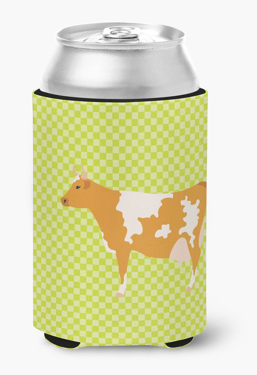 Guernsey Cow  Green Can or Bottle Hugger BB7647CC by Caroline's Treasures