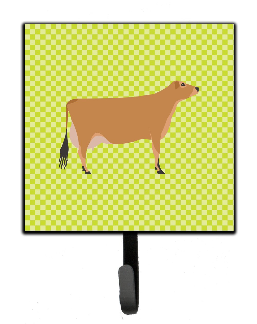 Buy this Jersey Cow Green Leash or Key Holder