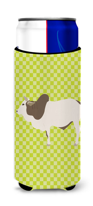 Buy this Malvi Cow Green Michelob Ultra Hugger for slim cans