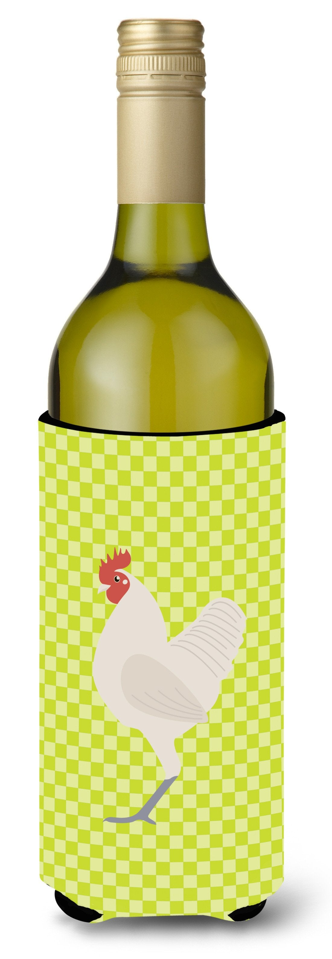 German Langshan Chicken Green Wine Bottle Beverge Insulator Hugger BB7663LITERK by Caroline's Treasures