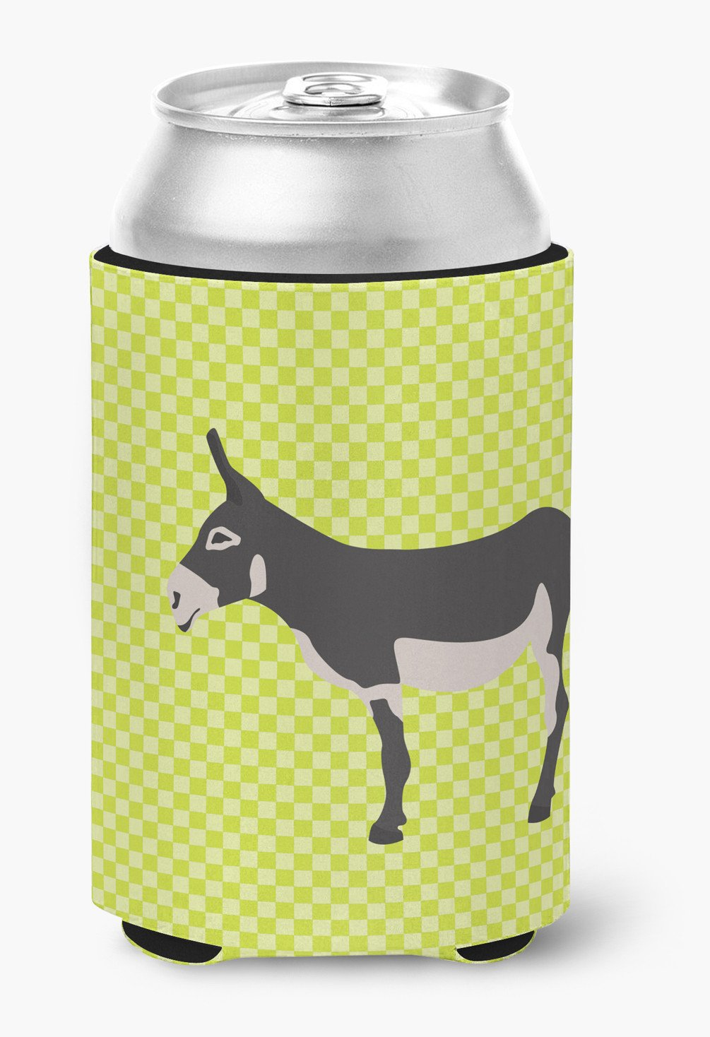 American Mammoth Jack Donkey Green Can or Bottle Hugger BB7670CC by Caroline's Treasures