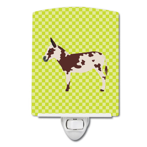 Buy this American Spotted Donkey Green Ceramic Night Light BB7677CNL