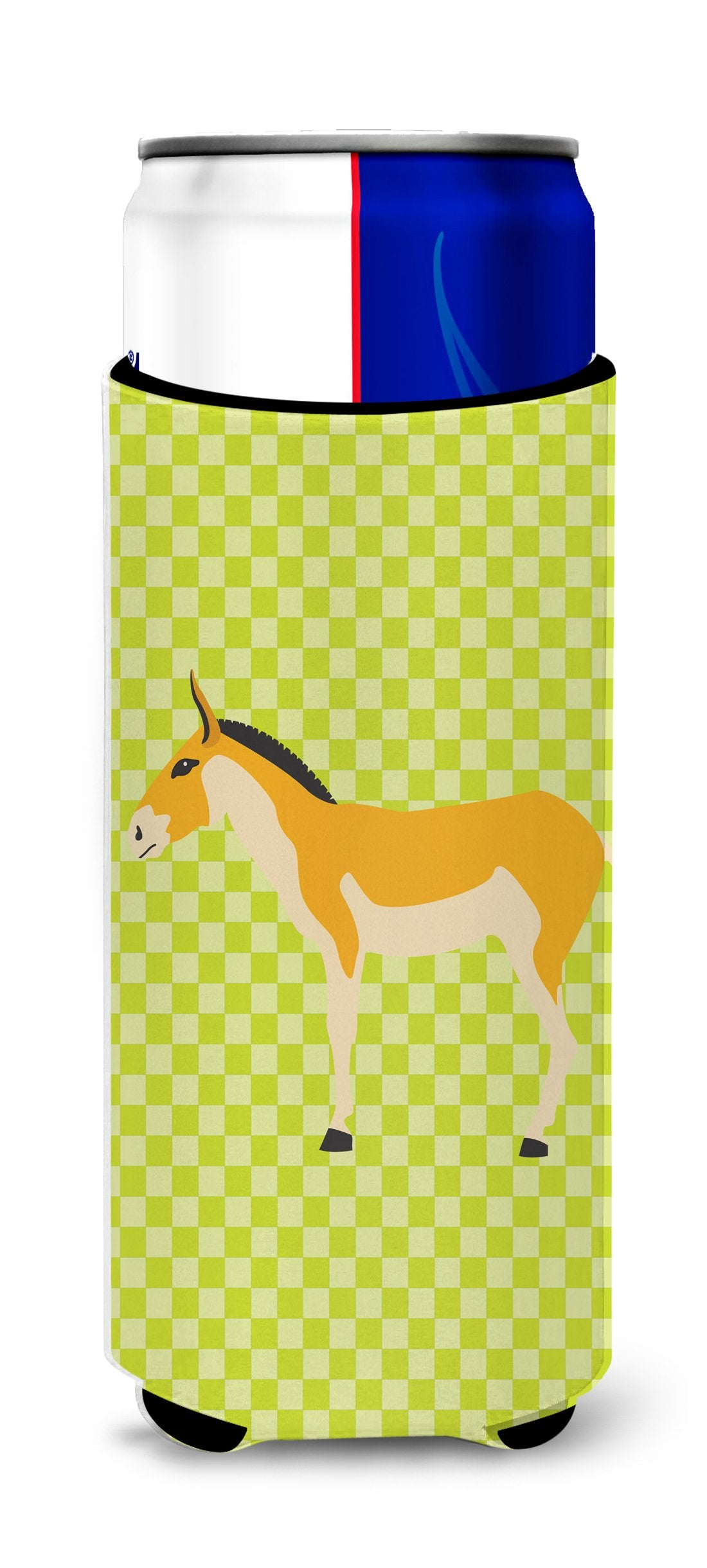 Buy this Turkmenian Kulan Donkey Green Michelob Ultra Hugger for slim cans